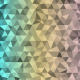 Dreiecke des Hintergrundes drei Farbmit transparentem Lizenzfreie Stockfotos