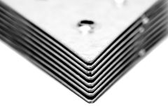 Dreieckige Metall-fixators Lizenzfreie Stockfotografie