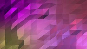 Dreieckige Zusammenfassung des niedrig-Polyhintergrundes mit den hellen und dunklen Schatten lizenzfreie abbildung