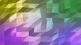 Dreieckige Zusammenfassung des niedrig-Polyhintergrundes mit den hellen und dunklen Schatten stock abbildung