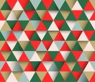 Dreieckiger abstrakter geometrischer Hintergrund des Vektors stock abbildung