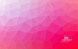 Dreieckiger abstrakter Hintergrund stockbilder