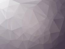 Dreieckiger Graphitgrauhintergrund Stockfotografie