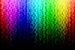 Dreieckiger Hintergrund des Regenbogens Lizenzfreie Stockfotos