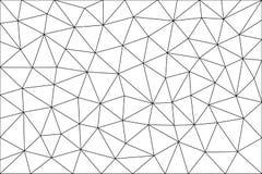 Dreieckiger, polygonaler freier Raum Lizenzfreies Stockbild