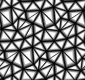 Dreieckiger Vektor-nahtloses Hintergrund-Muster Lizenzfreies Stockfoto