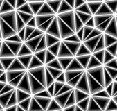 Dreieckiger Vektor-nahtloses Hintergrund-Muster Stockbild