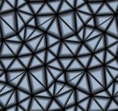 Dreieckiger Vektor-nahtloses Hintergrund-Muster Stockfotografie