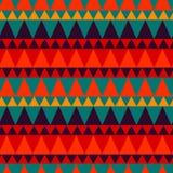 Dreieckiger Waldgebirgsnahtloses Muster Lizenzfreie Stockfotografie