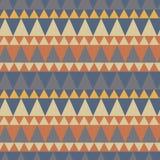 Dreieckiger Waldgebirgsnahtloses Muster Stockbilder