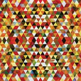 Dreieckiges Mosaik buntes BackgroundΠlizenzfreie abbildung
