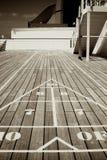 Dreieckiges Schlurfen-Vorstand-Ziel Stockbilder