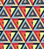 Dreieckmuster Stockbild