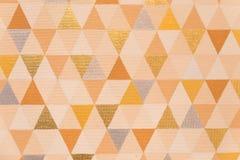 Dreieckmuster, geometrische abstrakte Beschaffenheit Stockbilder