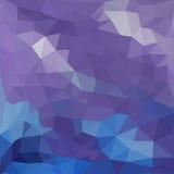 Dreieckmuster von geometrischen Formen bunt Lizenzfreie Stockbilder