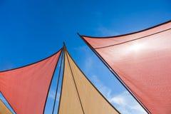 Dreiecksun-Farbtöne Lizenzfreies Stockfoto