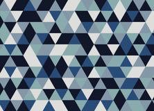 Dreieckzusammenfassungs-Designhintergrund Geometrisches Muster Stock Abbildung