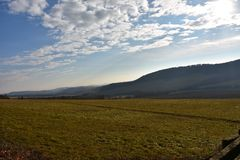 Dreifache Landschaft Lizenzfreie Stockfotos