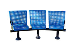 Dreifache Stühle Stockbilder