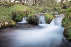 Dreifacher Wasserfall Stockfotografie