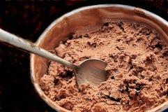 Dreifaches Schokolade delighgt lizenzfreie stockfotos