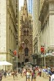 Dreifaltigkeitskirche NYC Lizenzfreies Stockfoto