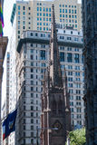 Dreifaltigkeitskirche, NYC Lizenzfreies Stockbild