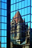 Dreifaltigkeitskirche-Reflexion Stockfoto