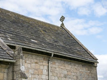 Dreifaltigkeitskirche, wenig Ouseburn, Yorkshire Stockbilder