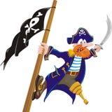 Dreigende piraat Royalty-vrije Stock Fotografie
