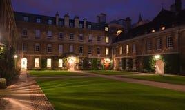 Dreiheit-Hall-Hochschule, Cambridge, Großbritannien stockbilder