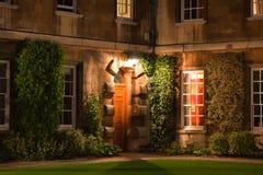 Dreiheit-Hall-Hochschule. Cambridge. Großbritannien. stockfotos