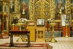 Dreiheit-Kathedrale in Pskov Kremlin Stockfoto