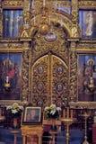 Dreiheit-Kathedrale in Pskov Kremlin Lizenzfreie Stockbilder
