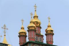 Dreiheit-Sergius Laurus in Russland Stockbild