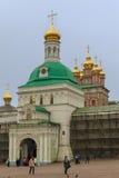 Dreiheit-Sergius Laurus in Russland Lizenzfreies Stockfoto