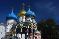 Dreiheit Sergius Lavra, Sergiev Posad, Russland UNESCO-Welt Herit Lizenzfreies Stockfoto