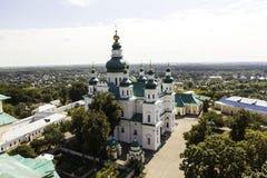 Dreiheits-Kathedrale (Chernihiv) Ukraine. stockbild