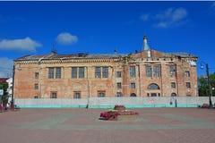 Dreiheits-Kathedrale ohne Hauben in Klin-Stadt Stockfotografie