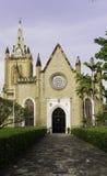 Dreiheits-Kathedrale in Port-of-Spain stockfotos