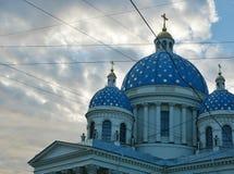 Dreiheits-Kathedrale, St Petersburg, Russland stockfotografie