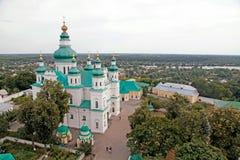 Dreiheits-Kloster in Chernihiv, Ukraine lizenzfreie stockbilder