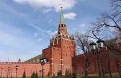 Dreiheits-Turm des Kremls, Moskau Lizenzfreies Stockfoto