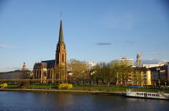 Dreikoenigskirche, Frankfurt Obrazy Royalty Free