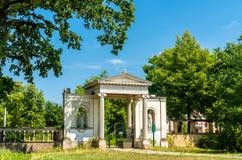 Dreikonigstor, een poort van Sanssouci-Park in Potsdam, Duitsland stock afbeeldingen