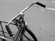 Dreiradnahaufnahme lizenzfreie stockfotos