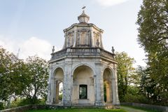 Dreizehnte Kapelle bei Sacro Monte di Varese Italien Lizenzfreie Stockfotografie