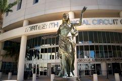 Dreizehntes Gerichtsschwurgericht von Florida, im Stadtzentrum gelegenes Tampa, Florida, Vereinigte Staaten Lizenzfreies Stockbild