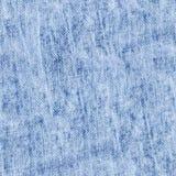 Drelichowa błękitnych, białych i gotowanych cajgów bezszwowa tekstura, zdjęcie royalty free