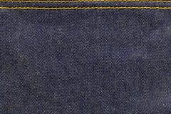 Drelichowa tkanina Fotografia Stock